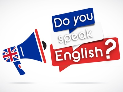 megaphone : do you speak english