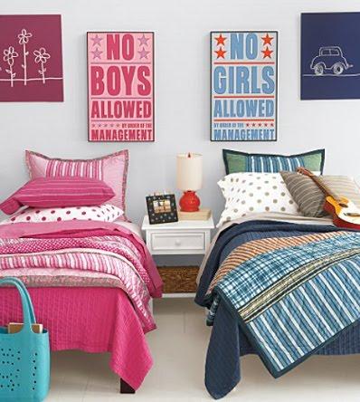 Diferentes estilos para la decoraci n del cuarto del beb - Habitaciones infantiles unisex ...